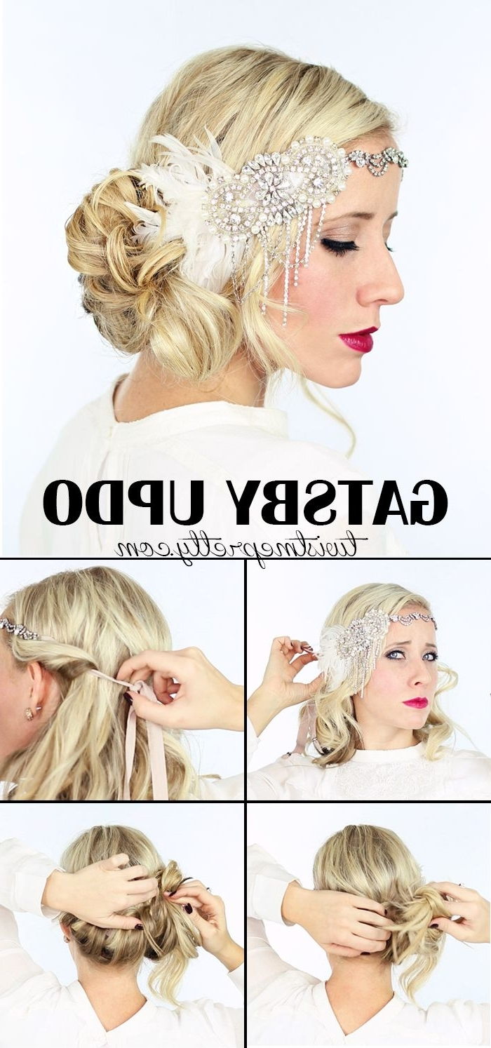 2 Gorgeous Gatsby Hairstyles For Halloween Or A Wedding 10+ Awesome Gatsby Hairstyles For Medium Length Hair