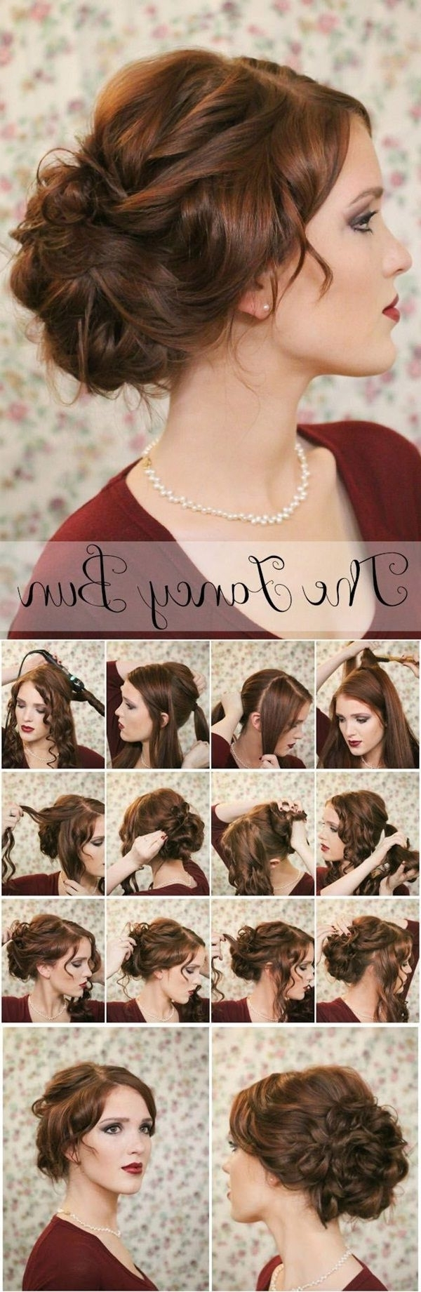 20 Diy Wedding Hairstyles With Tutorials To Try On Your Own 10+ Adorable Put Up Hairstyles For Medium Length Hair