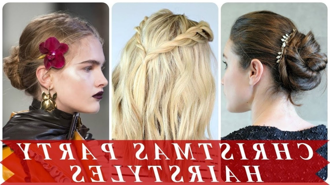 20 Hottest Ideas For Christmas Party Hairstyles 10+ Stylish Christmas Party Hairstyles For Medium Hair