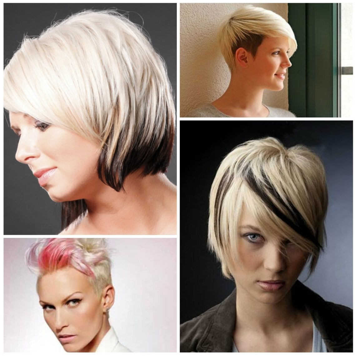 2016 Two Tone Hair Colors For Short Haircuts | 2021 Haircuts 40+ Adorable Medium Length Two Tone Hair Color Short Hairstyles