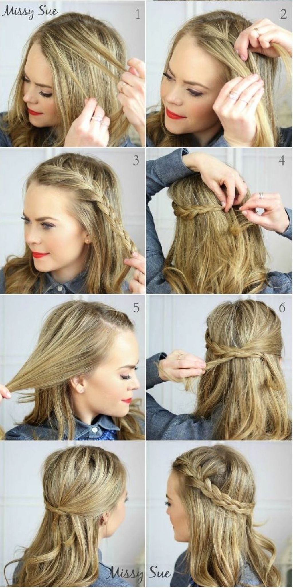 203 Casual Hairstyles For Long Hair Hairstyles 2019 Casual Braided Hairstyles For Medium Hair