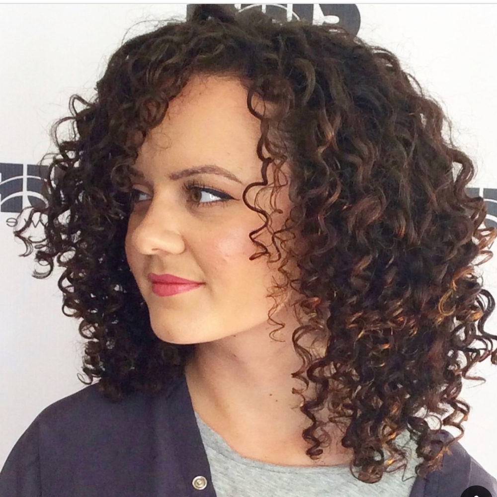 25 Best Shoulder Length Curly Hair Cuts & Styles In 2021 Medium Curly Hairstyles For Women