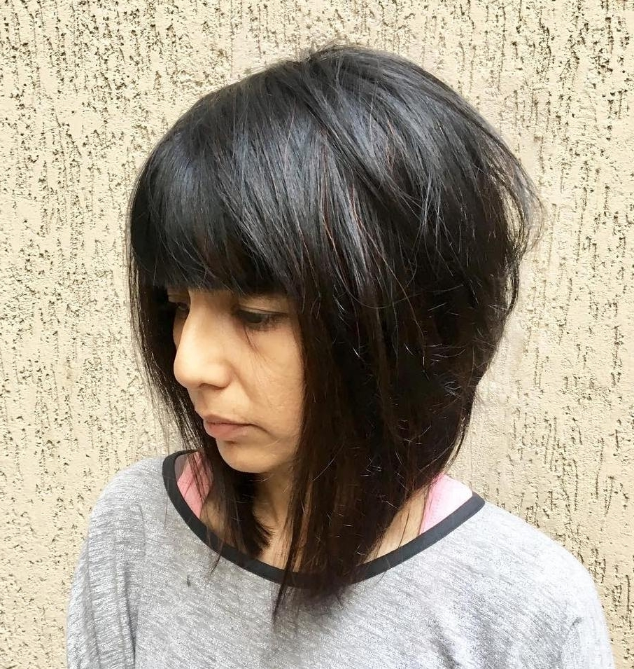 25 Latest Medium Length Hairstyles With Bangs For 2020 Medium Hairstyles With Fringe Bangs