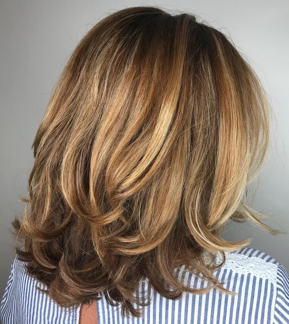 25 Must Try Medium Length Layered Haircuts For 2020 Medium Brunette Hairstyles