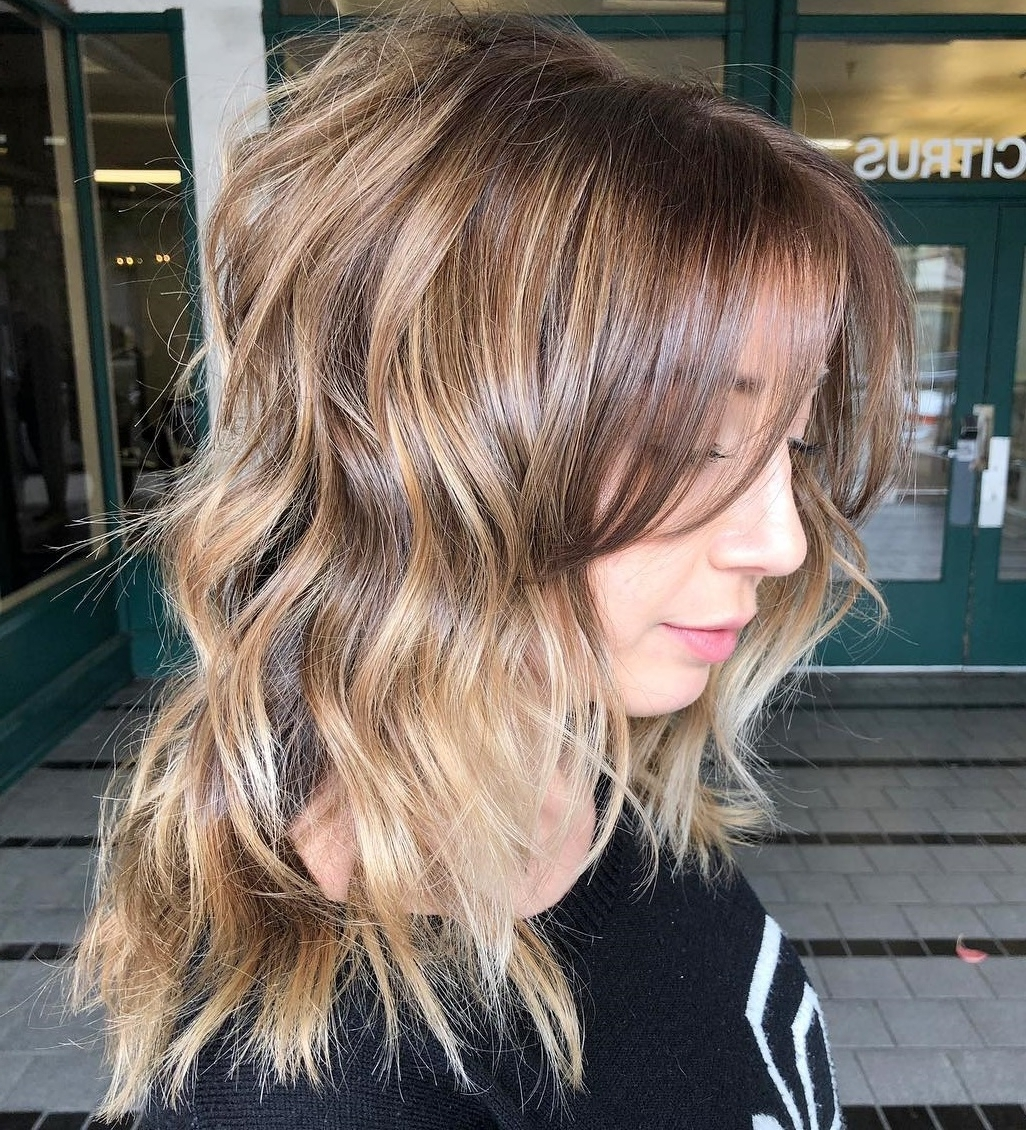 25 Must Try Medium Length Layered Haircuts For 2020 Medium Wispy Hairstyles