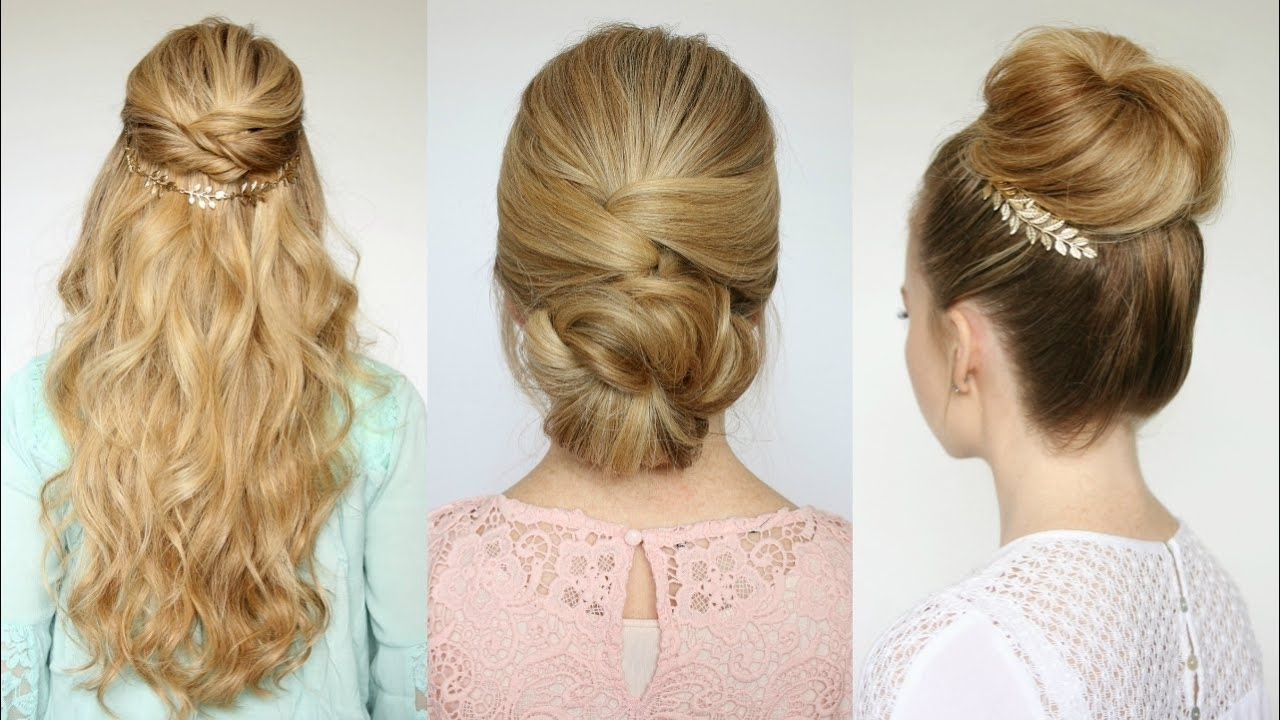 3 Easy Prom Hairstyles | Missy Sue Easy Prom Hairstyles For Medium Hair