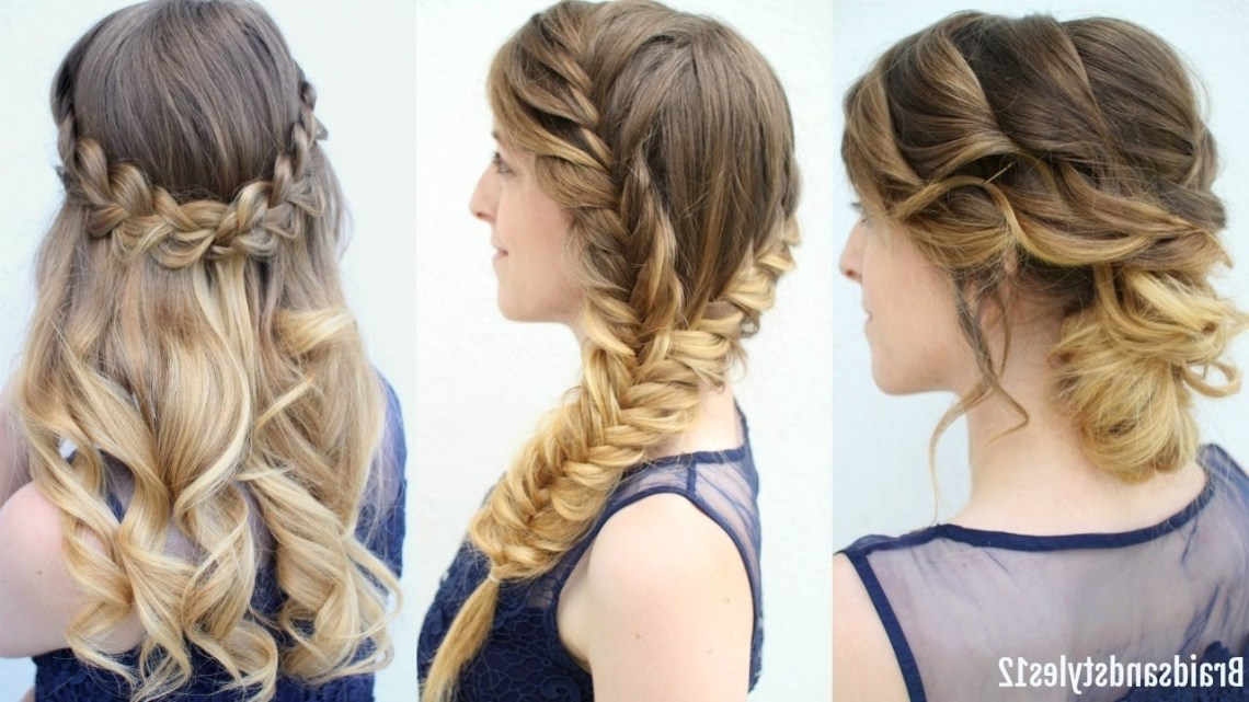 3 Graduation Hairstyles To Wear Under Your Cap | Formal Hairstyes | Braidsandstyles12 10+ Adorable Graduation Hairstyles For Medium Length Hair With Cap
