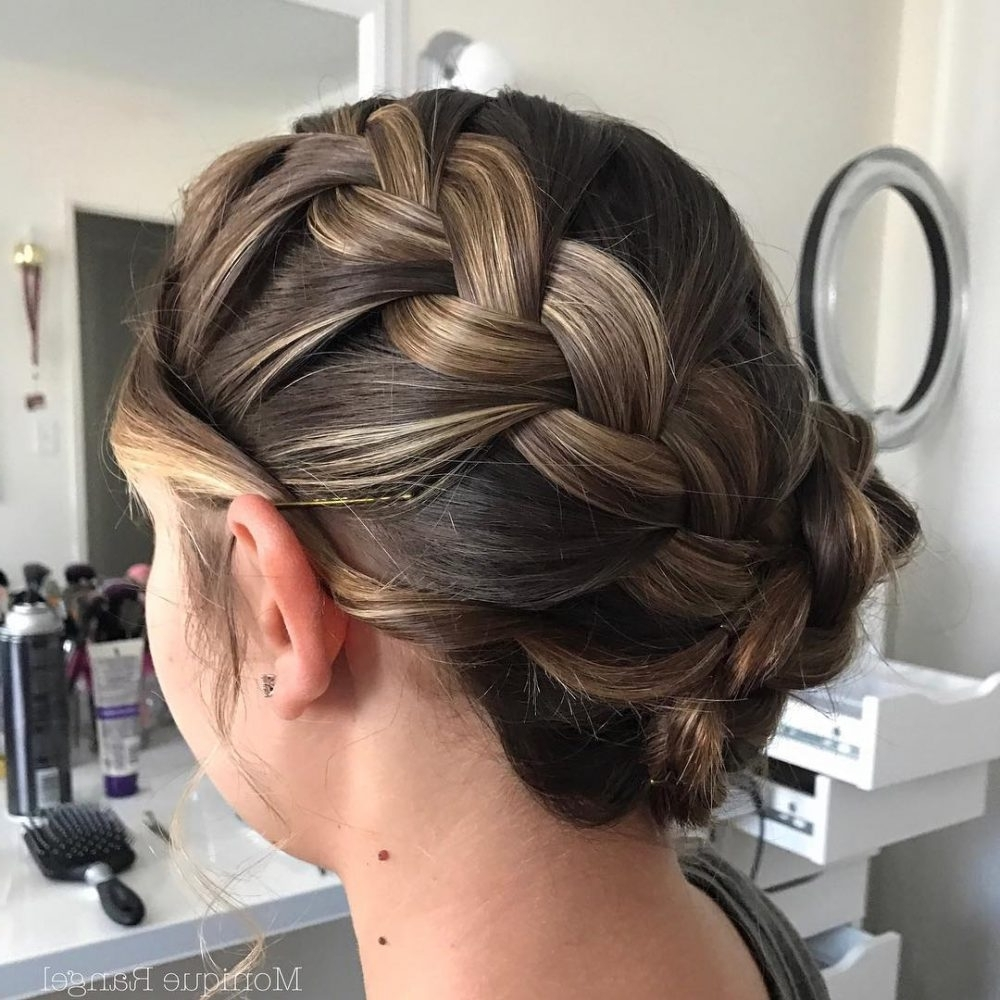 30 Prettiest Prom Updos For Long Hair For 2021 Updo Prom Hairstyles For Medium Hair