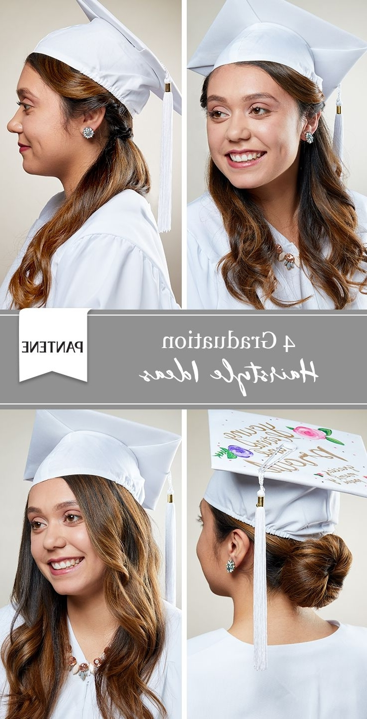 4 Graduation Cap Hairstyles. Stand Out On Your Big Day With Graduation Hairstyles For Medium Length Hair With Cap