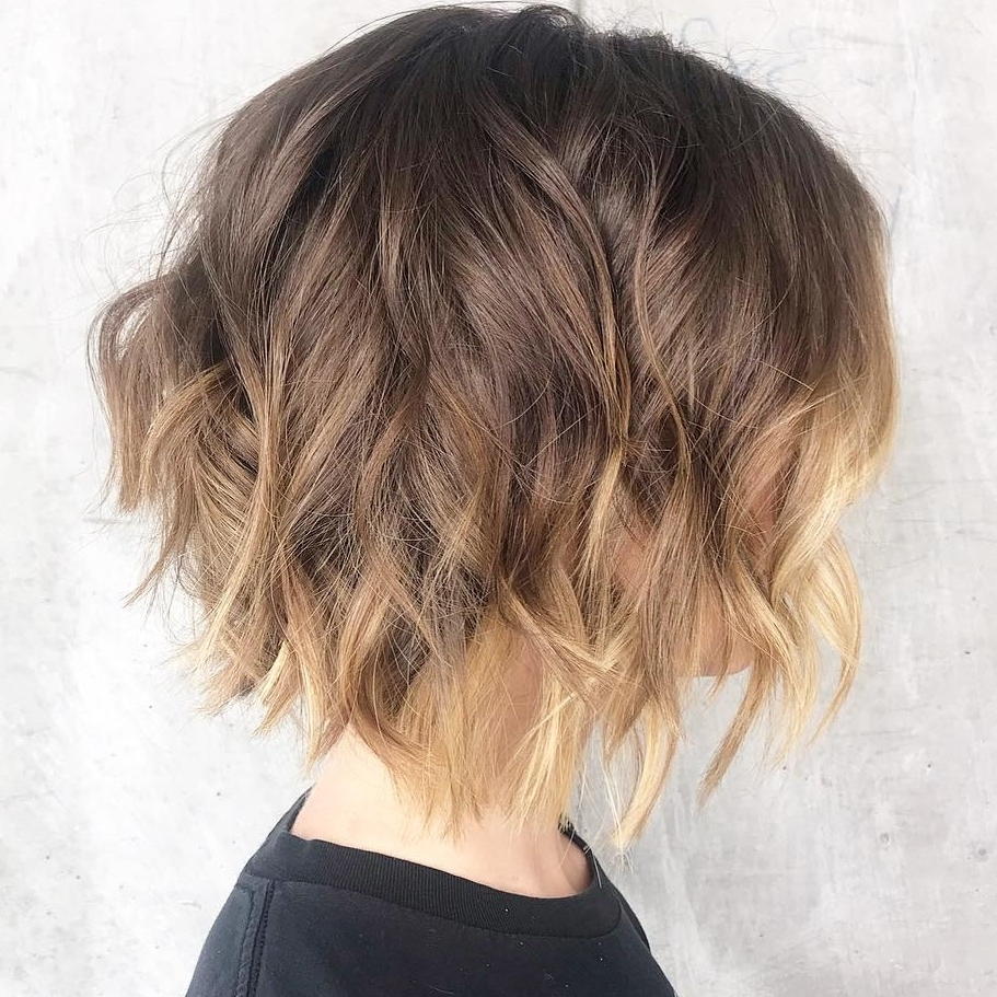 40 Awesome Ideas For Layered Bob Hairstyles You Can'T Miss Layered Medium Curly Bob Hairstyles