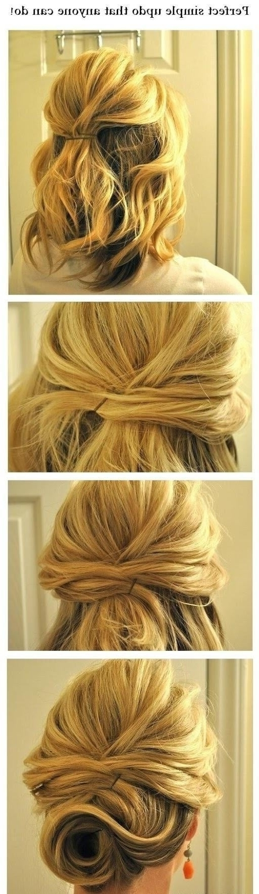45 Magical Updos Dedicated To Medium Length Hair 40+ Stylish Formal Hairstyles For Medium Length Hair
