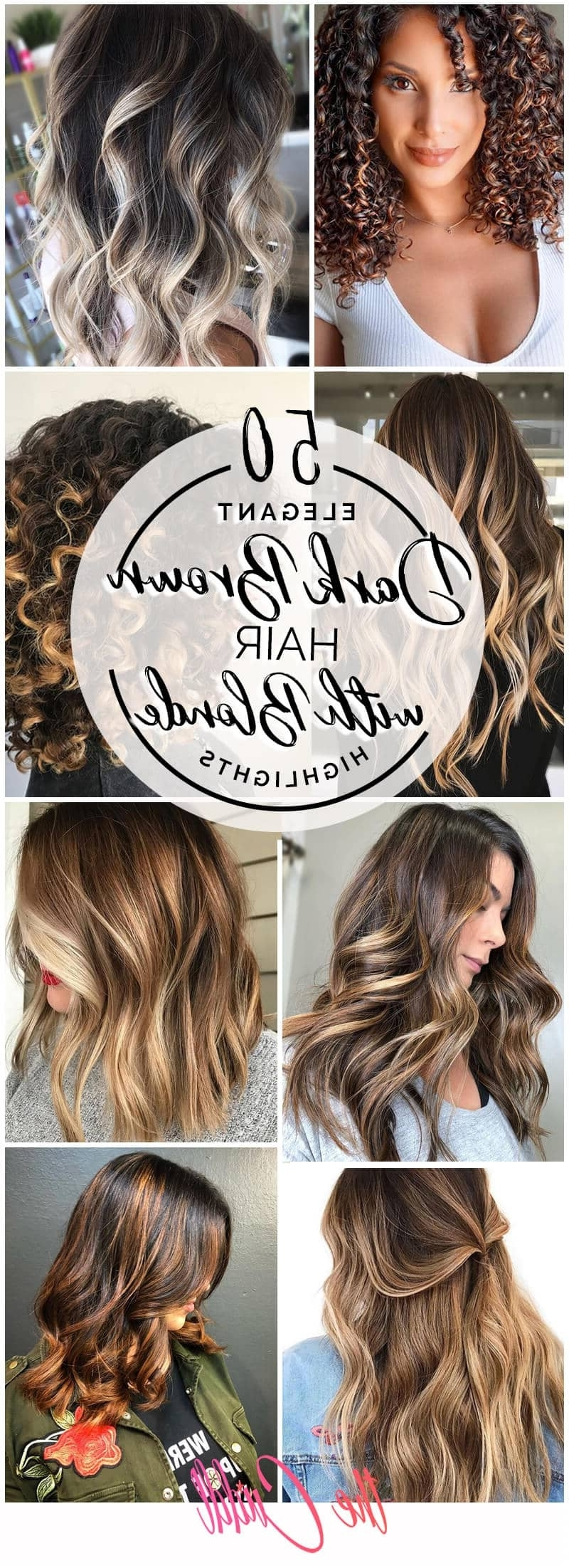 50 Best And Flattering Brown Hair With Blonde Highlights For 30+ Stunning Hairstyles For Medium Hair With Highlights