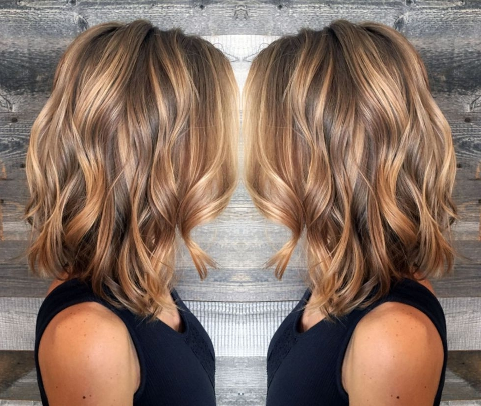 50 Ideas For Light Brown Hair With Highlights And Lowlights 10+ Cute Highlighted Medium Length Hairstyles