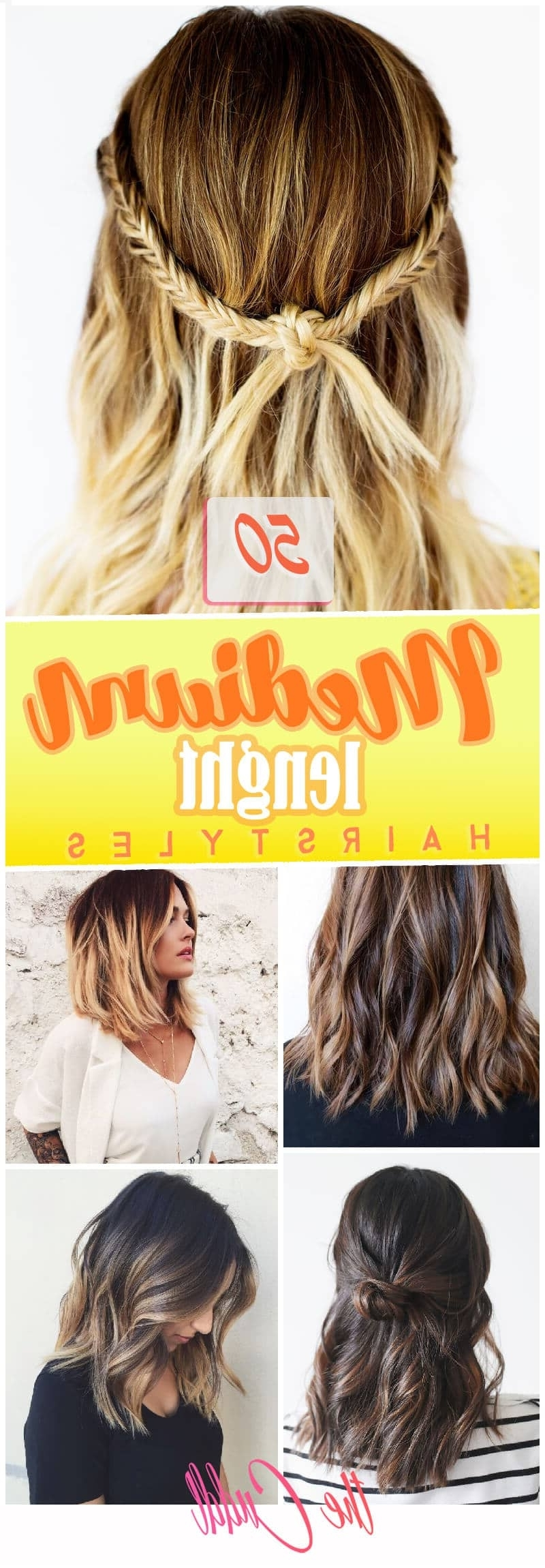 50 Pretty Chic Medium Lenght Hairstyles For 2020 30+ Amazing Fashionable Hairstyles For Medium Length Hair