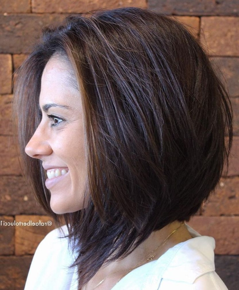 60 Most Beneficial Haircuts For Thick Hair Of Any Length 40+ Cute Medium Length Bob Hairstyles For Thick Hair
