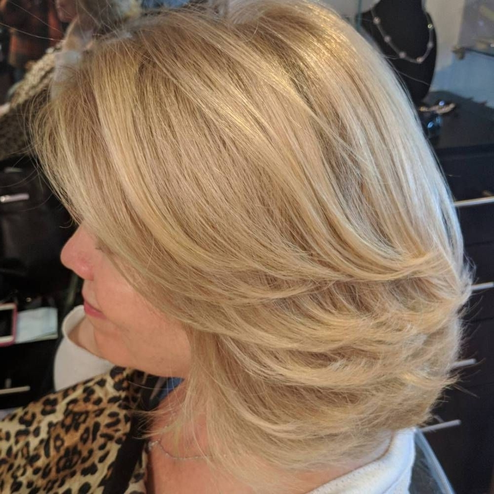 80 Best Modern Hairstyles And Haircuts For Women Over 50 Medium Length Blonde Hairstyles For Over 50