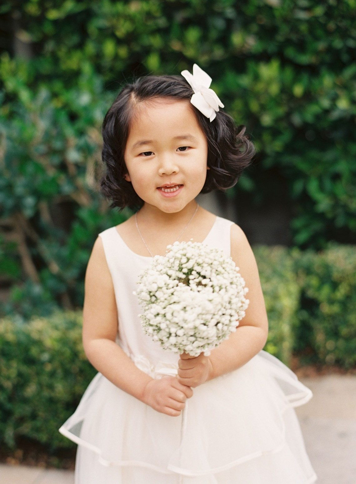 Adorable Hairstyle Ideas For Your Flower Girls | Martha Stewart Flower Girl Hairstyles For Medium Hair
