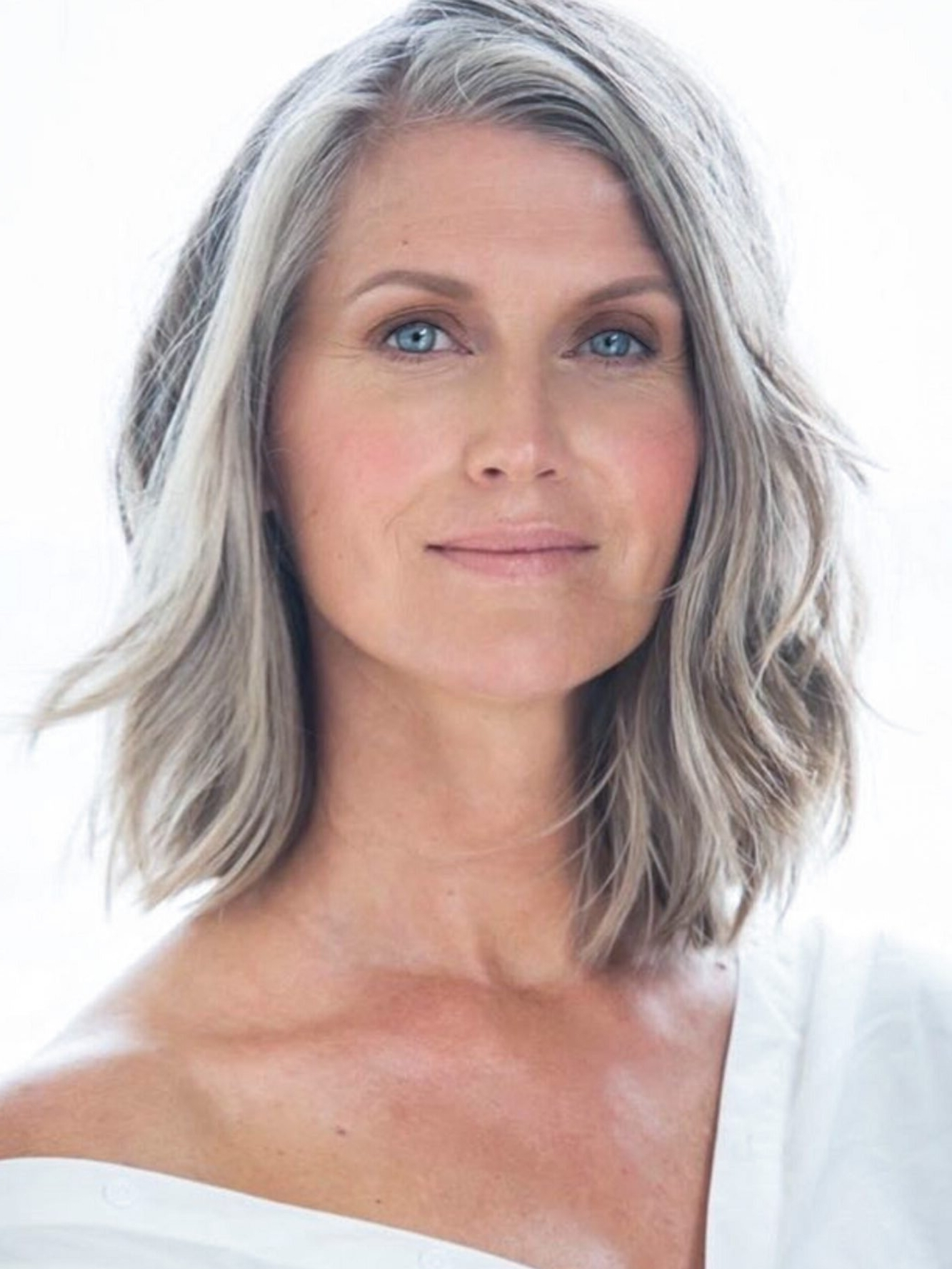 Amazing Gray Hairstyles We Love | Southern Living Medium Length Gray Hairstyles