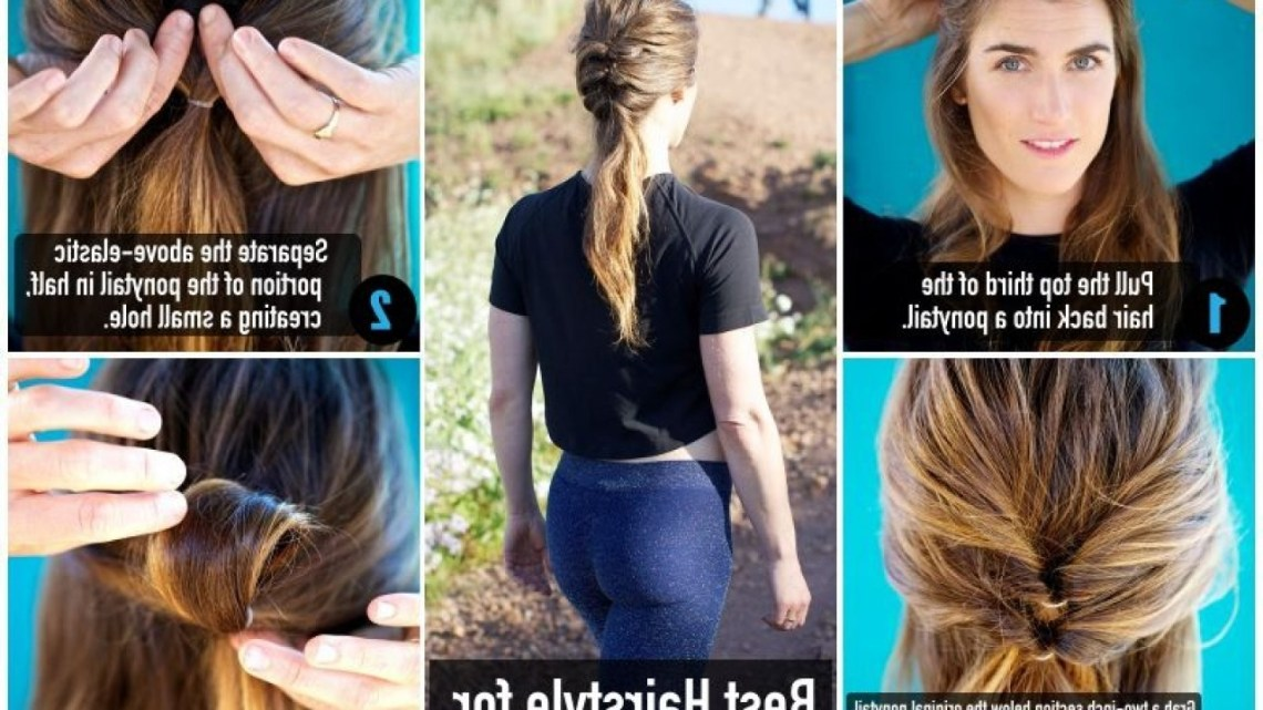 Best Fitness Hairstyles For Your Outdoor Activities Fitneass Hiking Hairstyles For Medium Hair