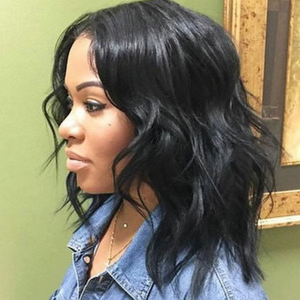 Best Medium Wavy Weave Hairstyle Black Women | Hair Styles 10+ Awesome Medium Length Hairstyles With Extensions