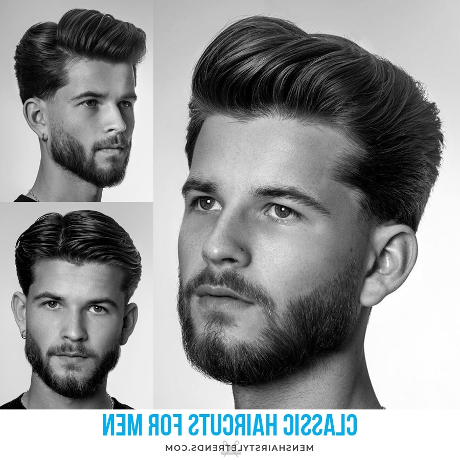 Classic Men'S Haircuts + Hairstyles That Are Stylish And 20+ Adorable Classic Medium Hairstyles For Men