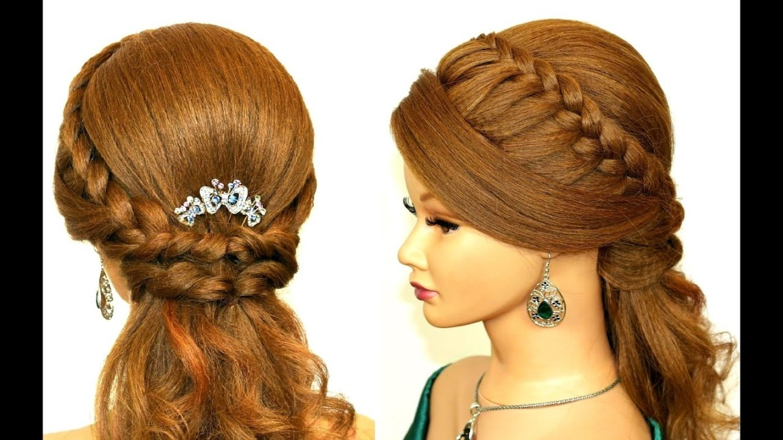 Easy Prom Hairstyle For Medium Long Hair. Easy Prom Hairstyle For Medium Long Hair