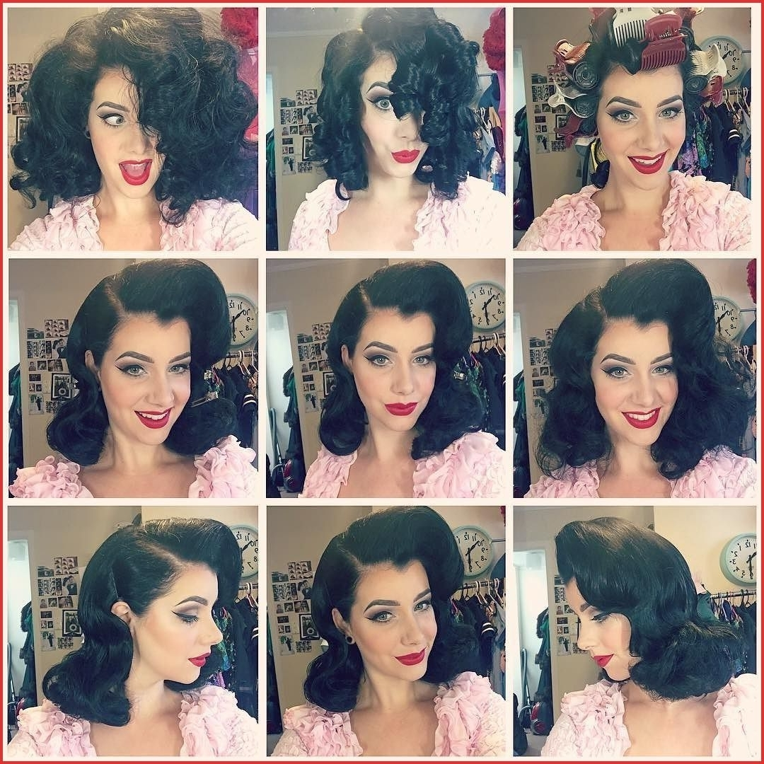 Hot Roller Hairstyles For Medium Hair 126557 The Evolution Hot Roller Hairstyles For Medium Hair