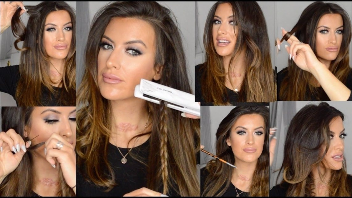How To Curl And Wave Hair Using Flat Iron Hair Straighteners 40+ Awesome Hairstyles For Medium Hair With Straightener