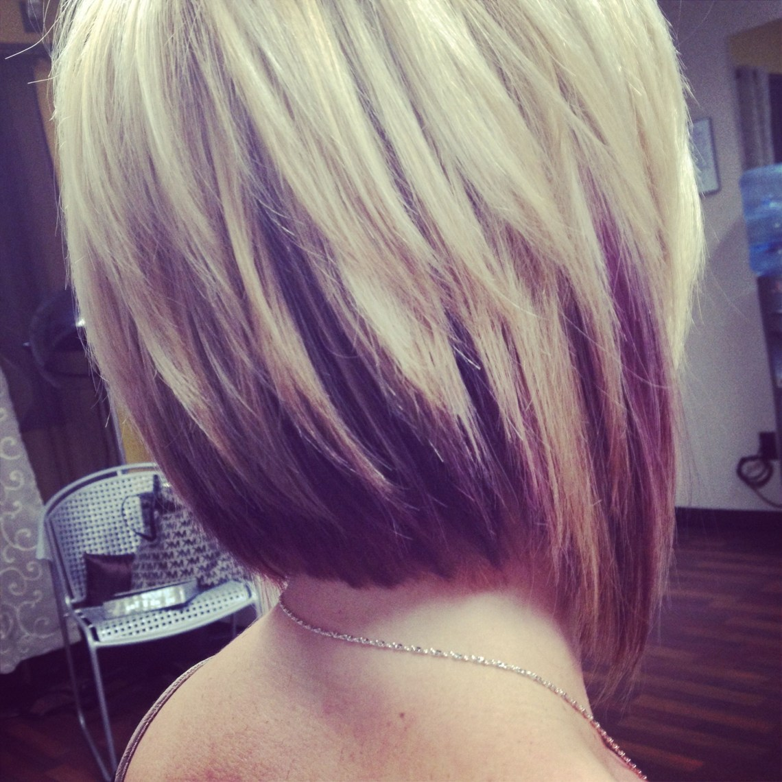 Love The Hair Color.. Brown On The Bottom And Blonde On The Medium Blonde Hairstyles 2015
