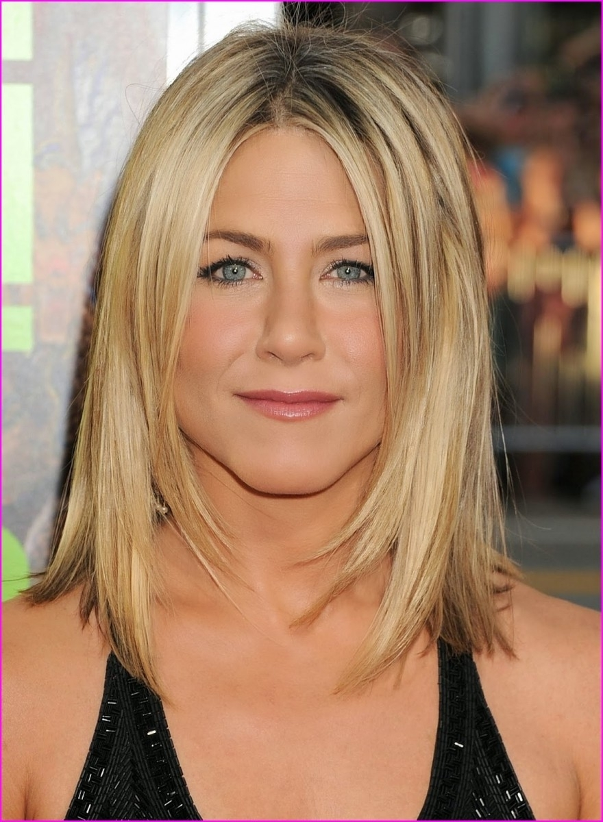 Medium Length Hairstyles For Round Faces » Short Haircuts 20+ Adorable Medium Hairstyles For Round Chubby Faces