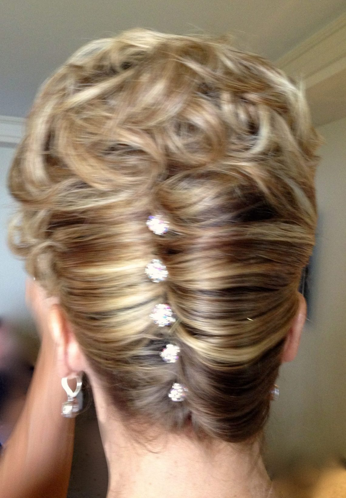 Mother Of The Bride Classic French Twist With A Little Mother Of The Bride Wedding Hairstyles For Medium Length Hair