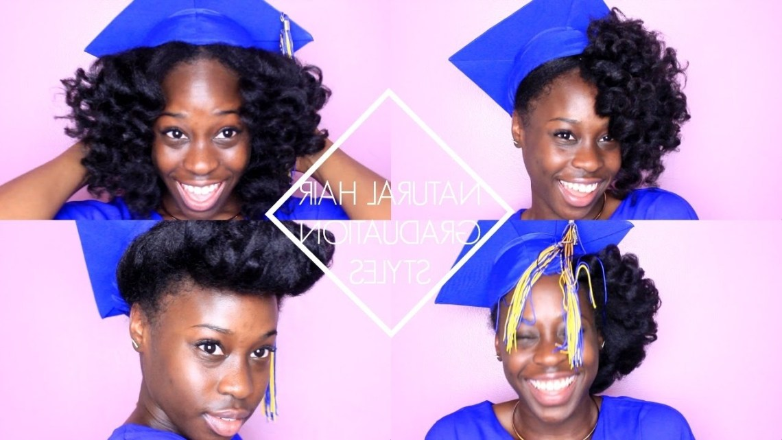 Natural Hair Graduation Styles 10+ Adorable Graduation Hairstyles For Medium Length Hair With Cap