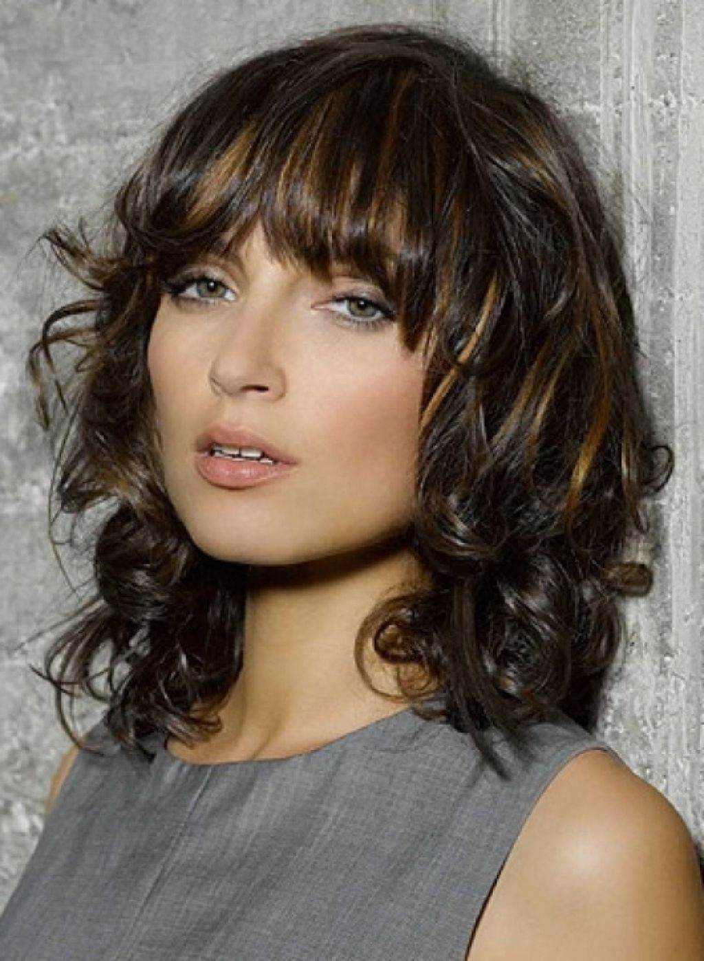 New Hairstyles For Medium Length Thick Hair 95 Ideas With 40+ Adorable Medium Length Hairstyles With Bangs Thick Hair