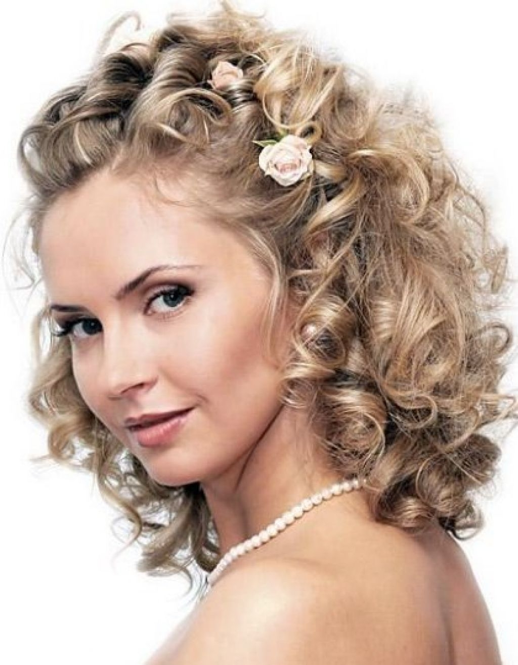 Pin On Hair Styles 10+ Amazing Medium Length Curly Wedding Hairstyles