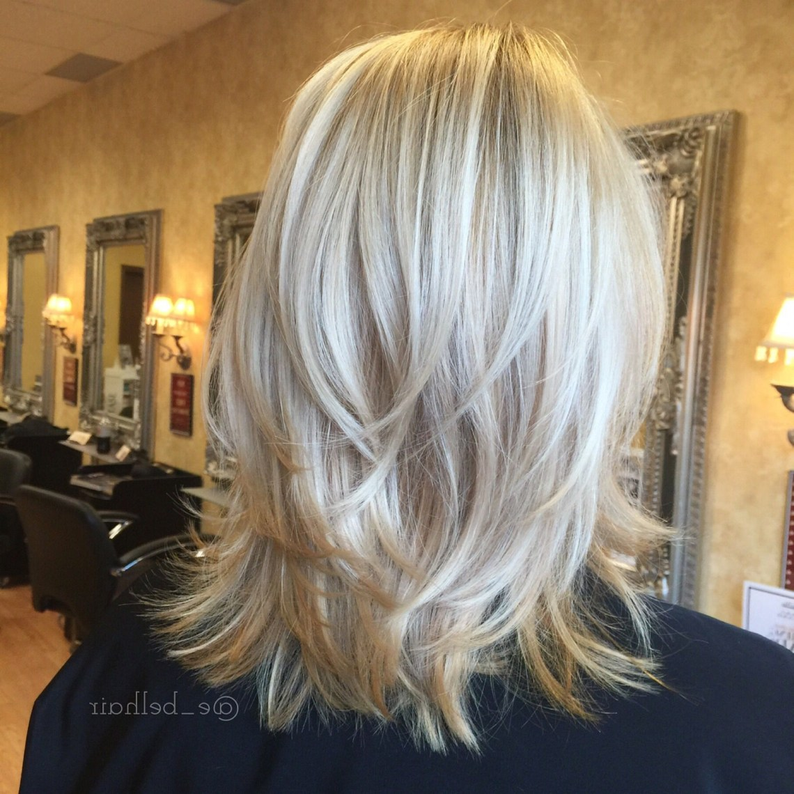 Pin On Hairemily Belcher Cute Blonde Hairstyles For Medium Length Hair