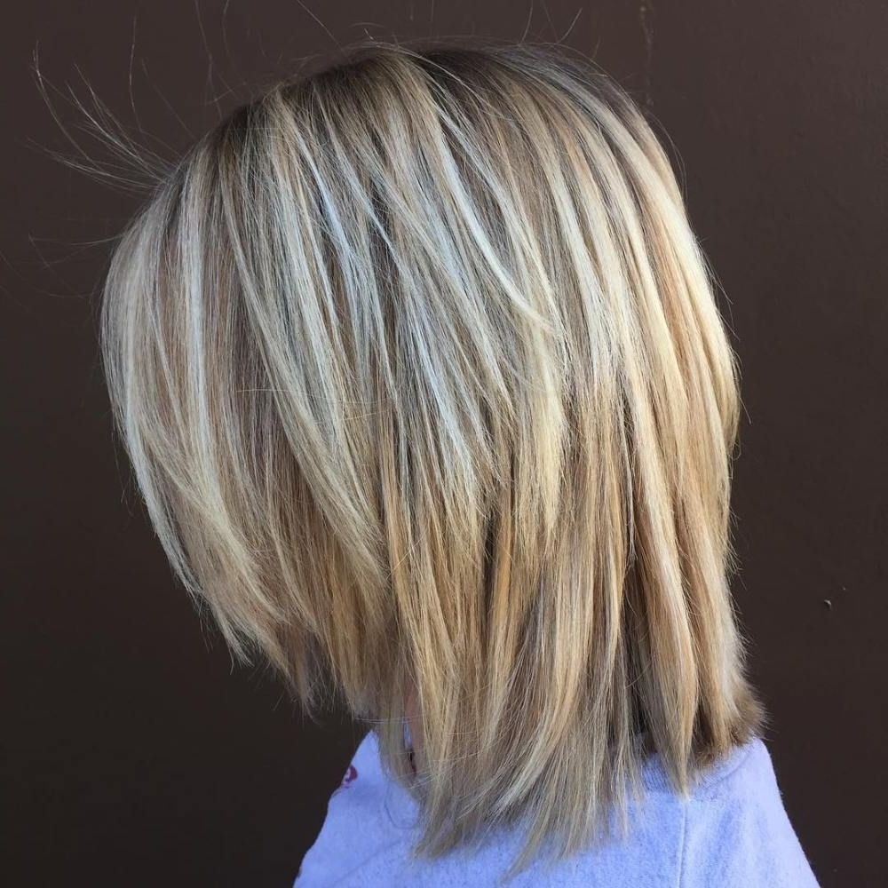 Pin On Lob Hairstyle/Cuts Layered Choppy Shoulder Length Hairstyles For Medium Hair