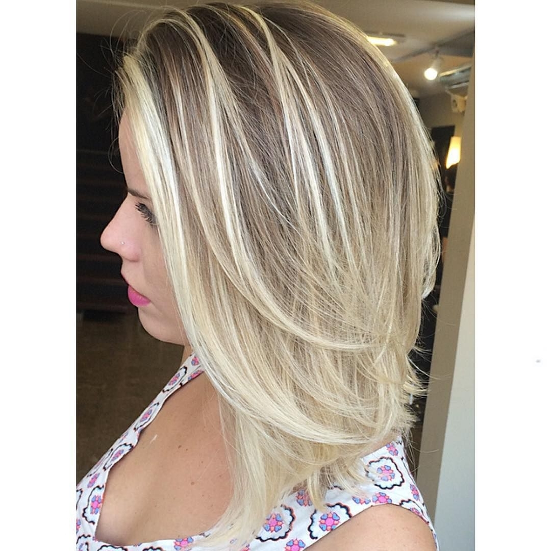 Pin On Medium Length Layered Hairstyles 10+ Awesome Medium Length Blonde Hairstyles Straight