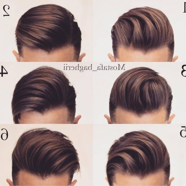 Pin On Men'S Grooming Pomade Hairstyles For Medium Hair