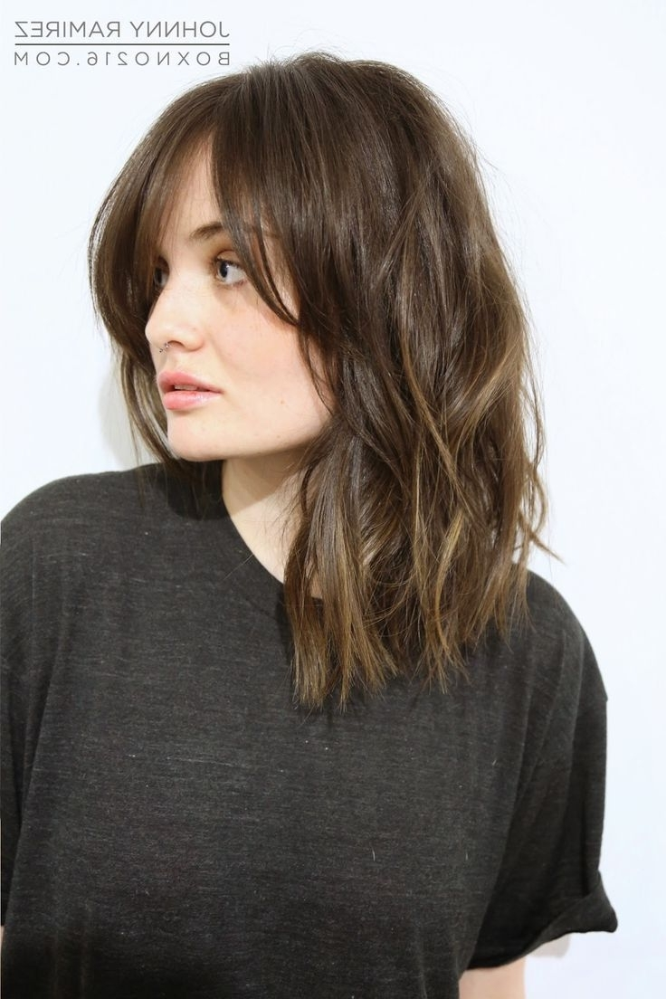 Pin On New Cut Medium Length Hairstyles With Side Bangs 2018