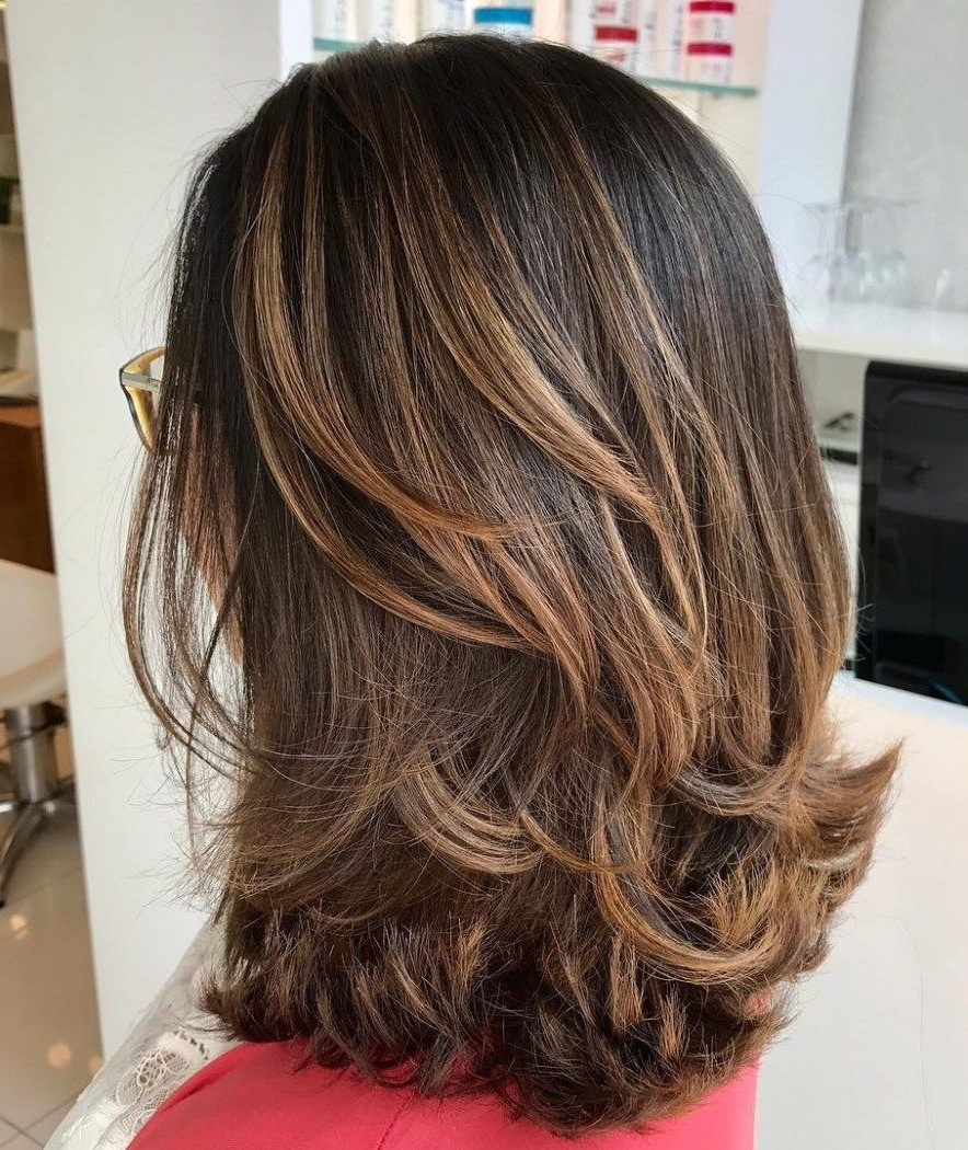 Pin On Peluqueria Layered Thick Hair Medium Length Hairstyles