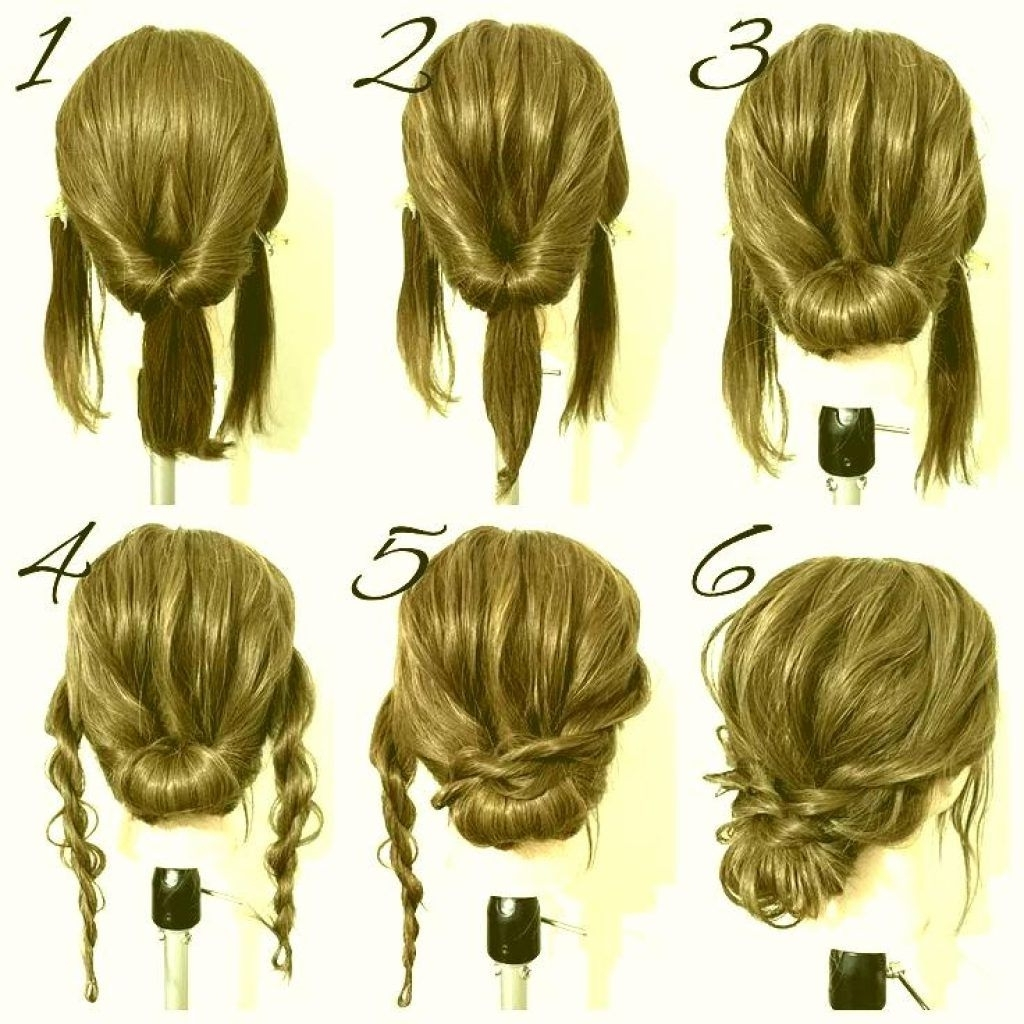Prom Hairstyles For Medium Length Hair Updos Simple Prom Hairstyles Medium Hair