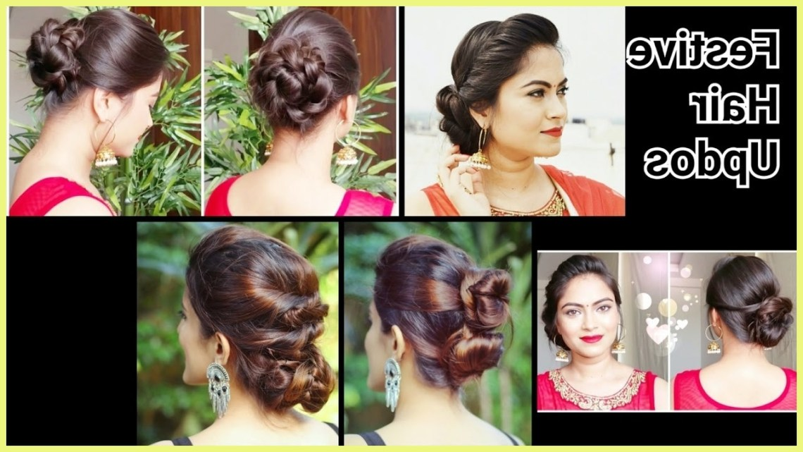 Saree Hairstyles For Medium Hair 283062 2 Quick&Easy Indian 10+ Stunning Hairstyle On Saree For Medium Hair