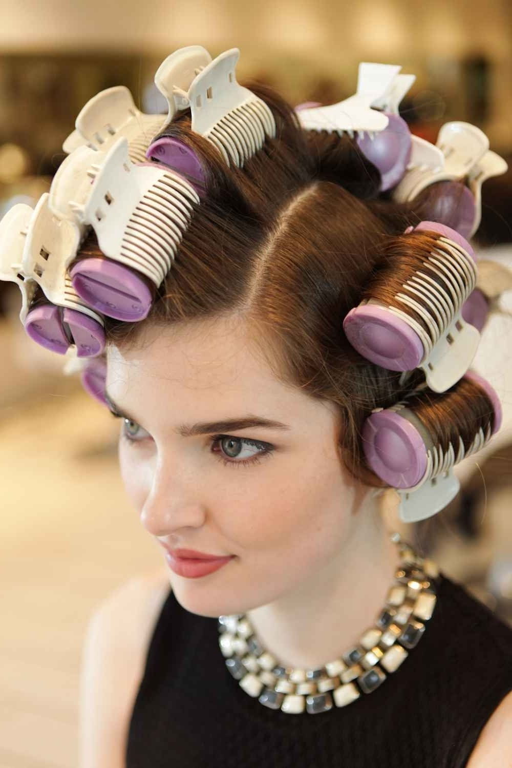 Styles Created With Hot Rollers | Hot Rollers Hair, Hot Hot Roller Hairstyles For Medium Hair