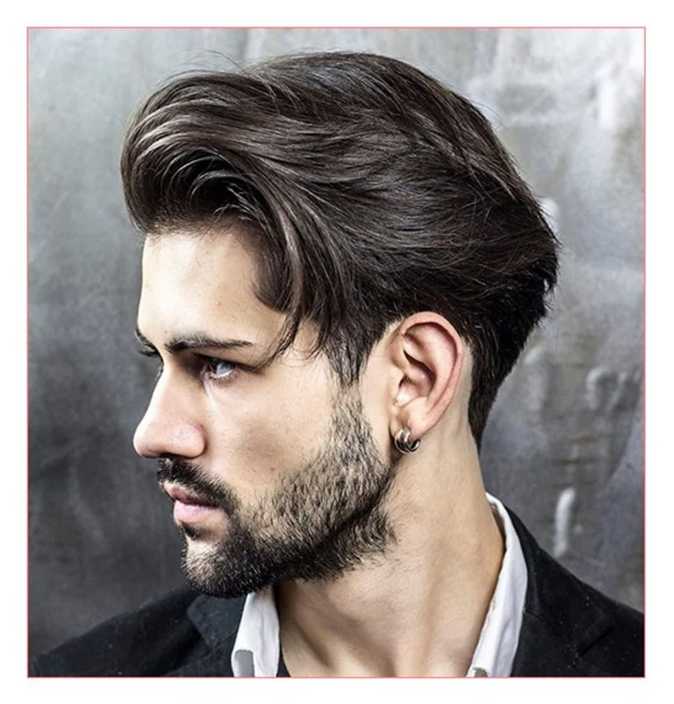 The 60 Best Medium Length Hairstyles For Men | Improb 30+ Awesome Medium Mens Hairstyles 2019
