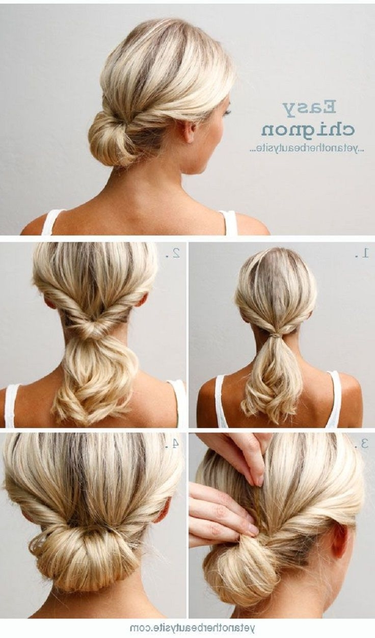 Top 10 Super Easy 5 Minute Hairstyles For Busy Ladies Top 40+ Stunning Easy 5 Min Hairstyles For Medium Hair