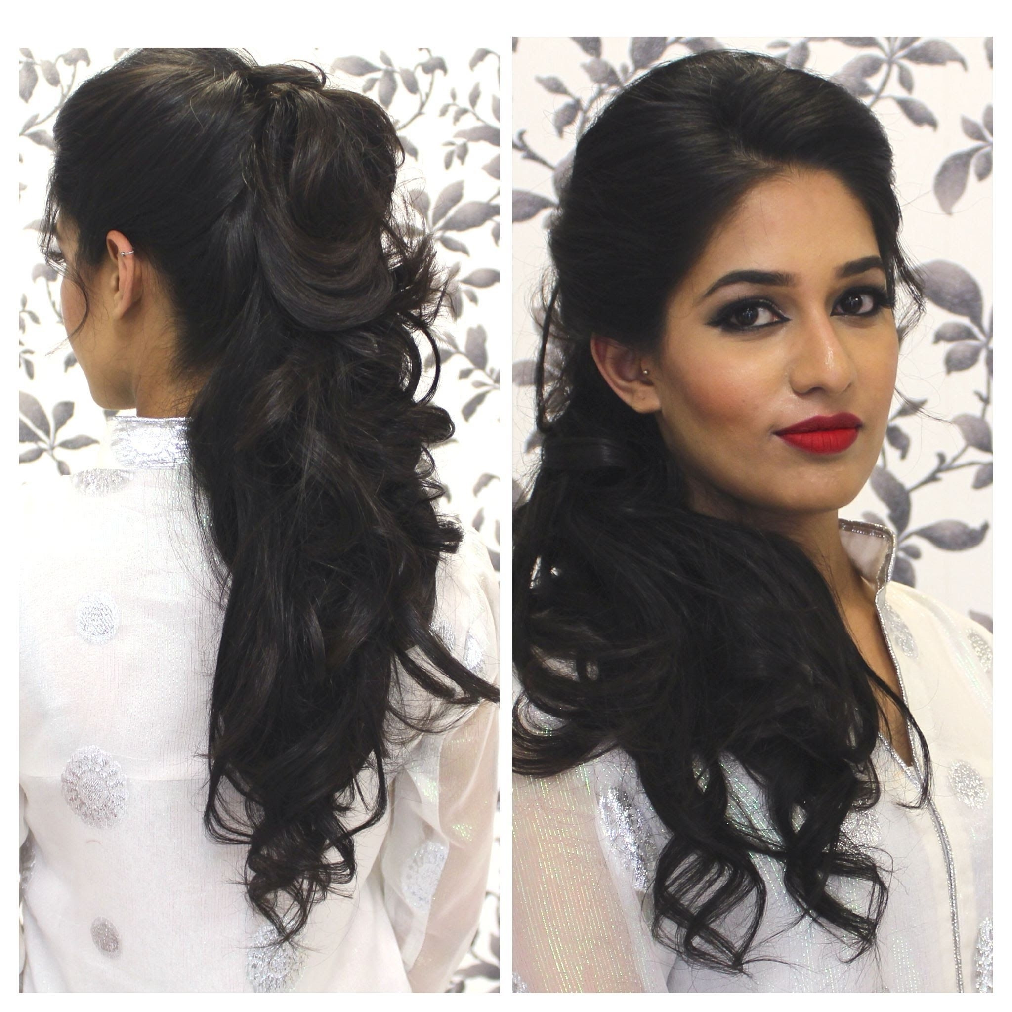 Tutorial: Indian Party Hairstyle | Indian Party Hairstyles 30+ Amazing Indian Curly Hairstyles For Medium Length Hair