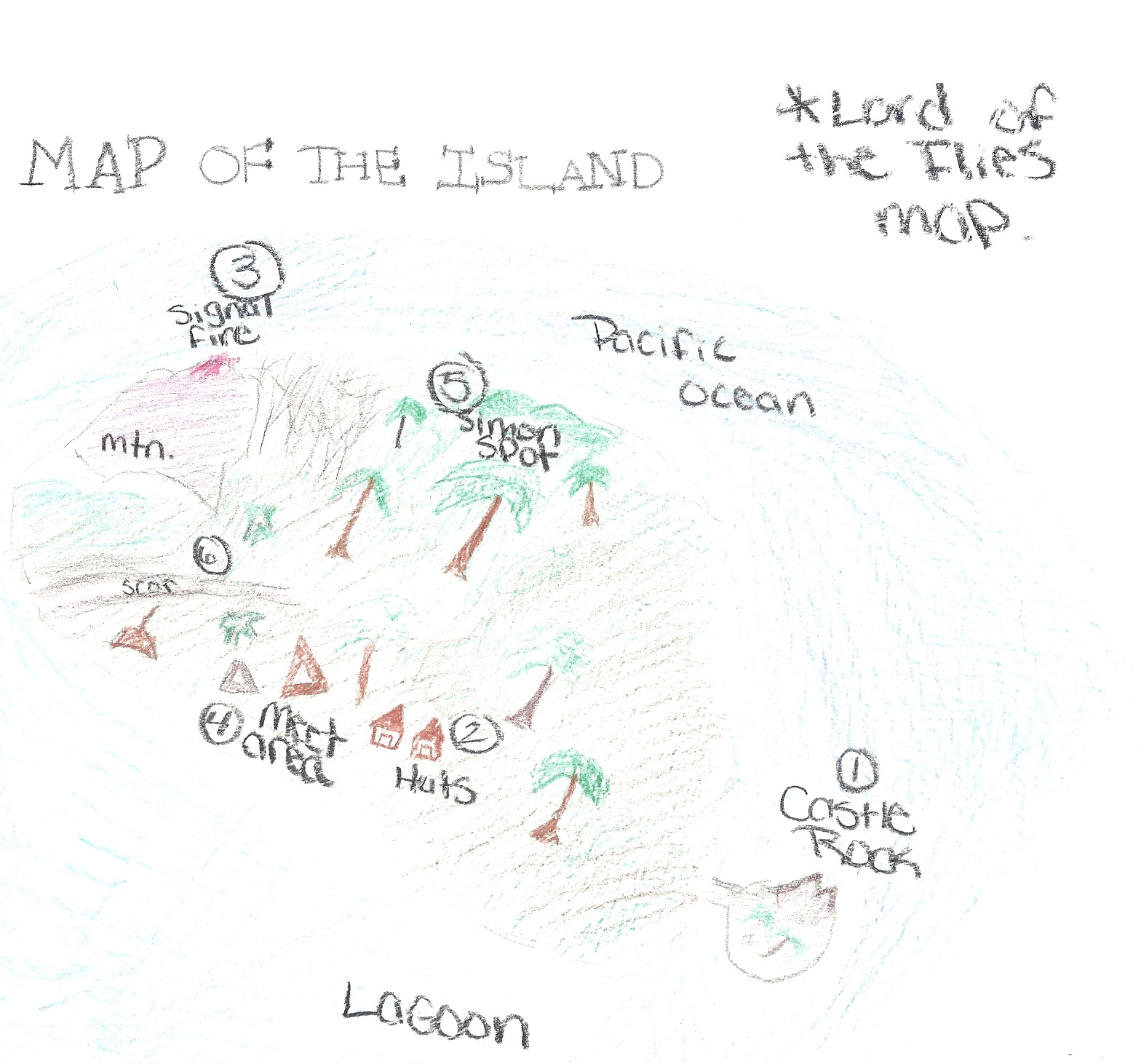 Lord Of The Flies Island Maps