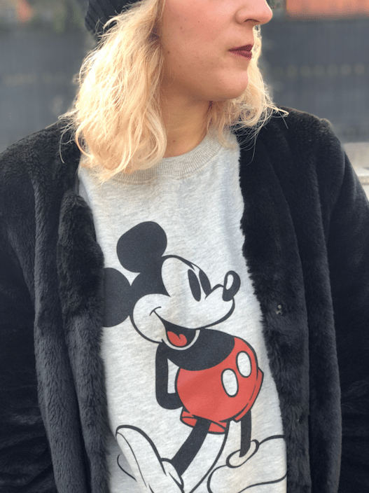 Sudadera Mickey+Teddy Coat