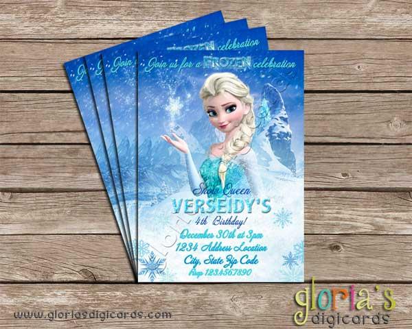 frozen elsa the snow queen birthday