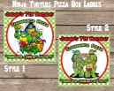Ninja Turtles Pizza Box Label WEBSITE Layout